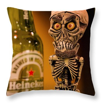 Silence I Drink You Throw Pillow