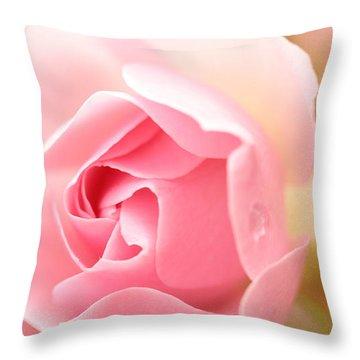 Silence Of The Heart Throw Pillow