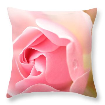 Silence Of The Heart Throw Pillow