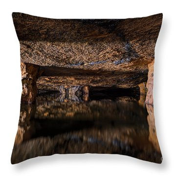 Silence Within Throw Pillow
