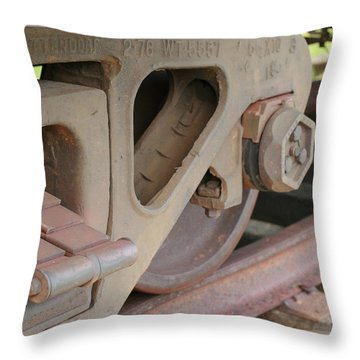 Throw Pillow featuring the photograph Silenced by Denise Beverly