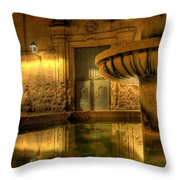 Throw Pillow featuring the photograph Silent Lucidity by Erhan OZBIYIK