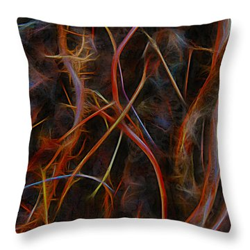 Silent Stalker Throw Pillow
