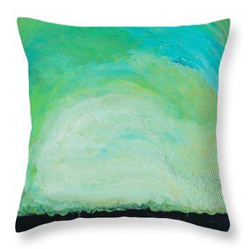 Silicon Valley Throw Pillow by Joseph Demaree