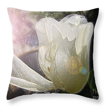 Siliconic Surreality Throw Pillow