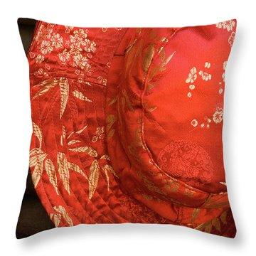 Silk Hat Throw Pillow
