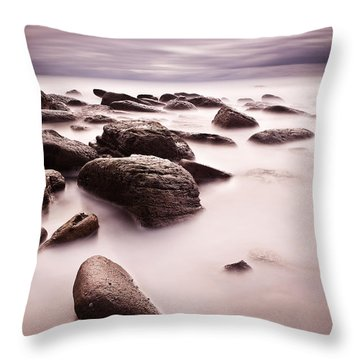 Silk Throw Pillow by Jorge Maia