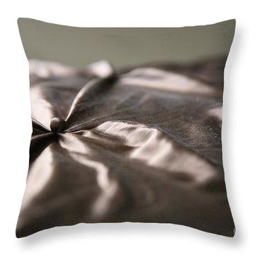 Silk Throw Pillow by Lynn England