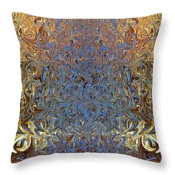 Throw Pillow featuring the photograph Silken Luxury by Jane McIlroy