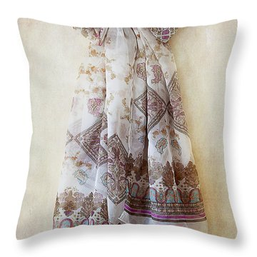 Silky Bow Throw Pillow by Svetlana Sewell