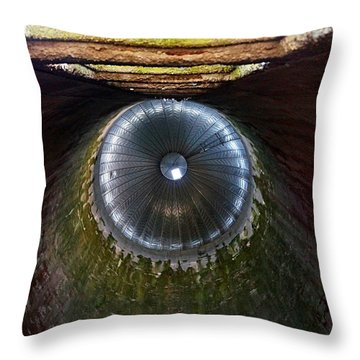 Silo Cap Throw Pillow