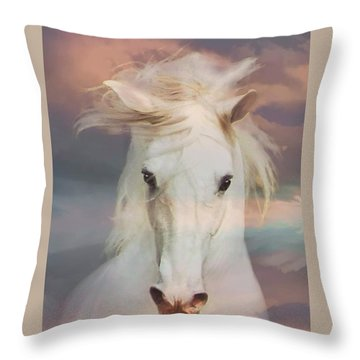Silver Boy Throw Pillow