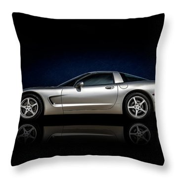 Chevy Corvette Throw Pillows