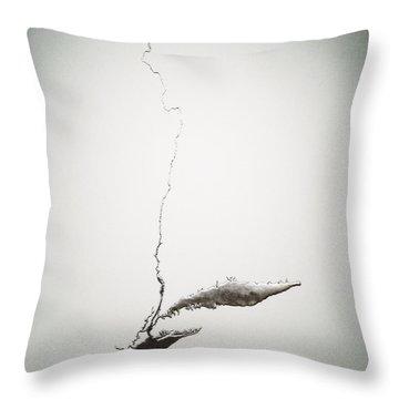 Silver Hudson By Maya Lin Throw Pillow