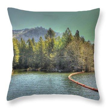 Silver Lake 3 Throw Pillow