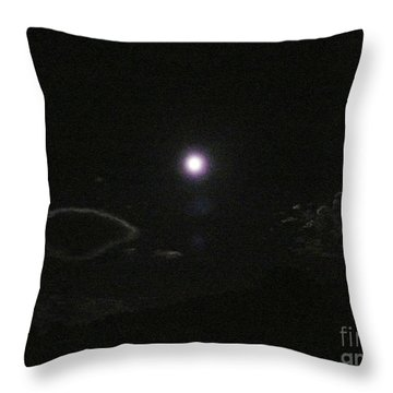 Silver Linings Throw Pillow by Jacquelyn Roberts