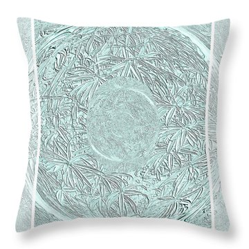 Throw Pillow featuring the photograph Silver Ring by Oksana Semenchenko