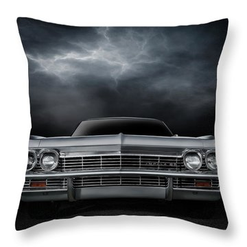 Silver Sixty Five Throw Pillow
