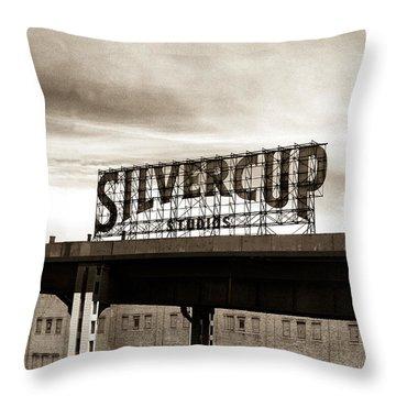 Silvercup Studios Throw Pillow