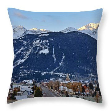 Silverton's Mountain Majesty Throw Pillow
