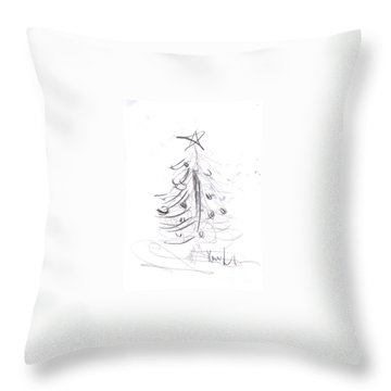 Simple Love Throw Pillow