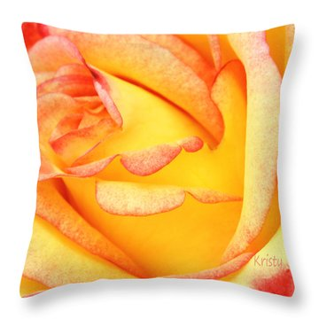 Simple Rose 2 Throw Pillow