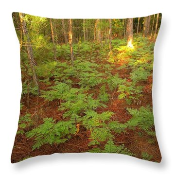 Your Never Alone Throw Pillow