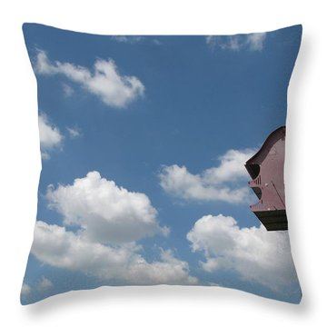 Throw Pillow featuring the photograph Simplicity by Beth Vincent