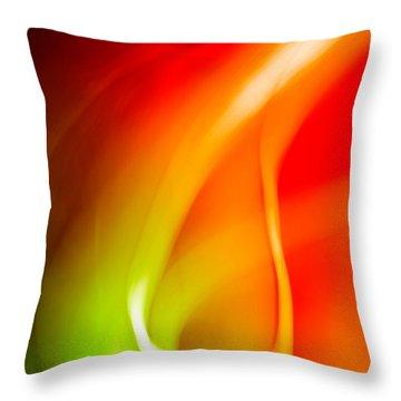Simplicity Of Motion Throw Pillow