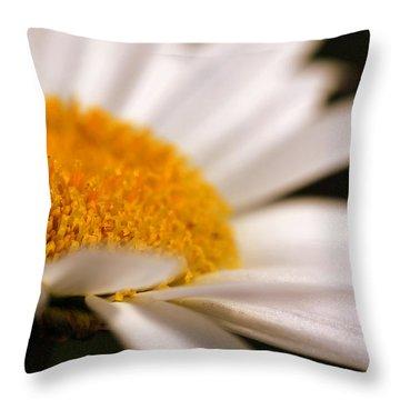 Simply Daisy Throw Pillow