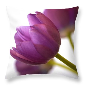 Simply Purple Throw Pillow