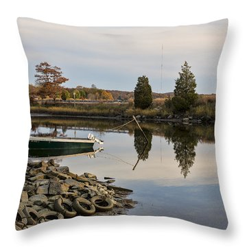 Throw Pillow featuring the photograph Sin And Flesh Gut by Andrew Pacheco
