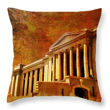Sindh High Court Throw Pillow by Catf