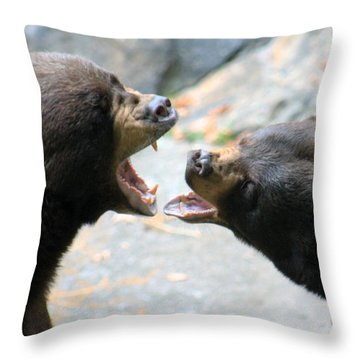 Singers Throw Pillow