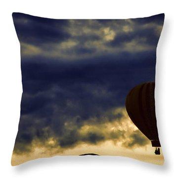 Single Ascension Throw Pillow