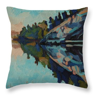 Singleton Cliffs Throw Pillow