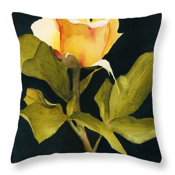 Singular Beauty Throw Pillow