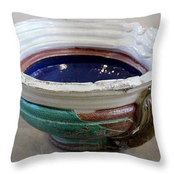 Sink Series 0027 Throw Pillow by Richard Sean Manning