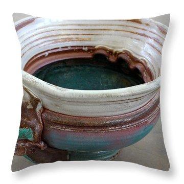 Sink Series 0031 Throw Pillow by Richard Sean Manning