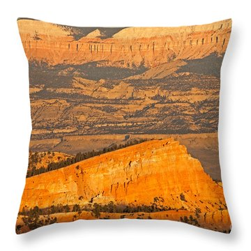 Sinking Ship Sunset Point Bryce Canyon National Park Throw Pillow