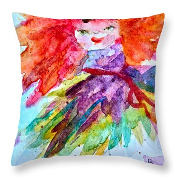 Siofra Throw Pillow by Beverley Harper Tinsley