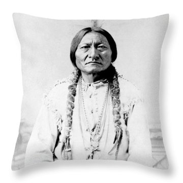 Sioux Throw Pillows