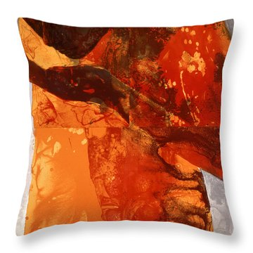 Sip Throw Pillow by Graham Dean