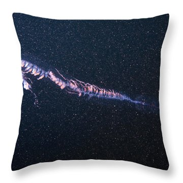 Siphonophore Throw Pillow