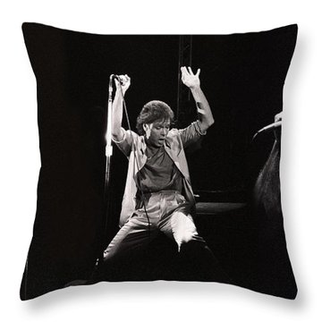 Sir. Cliff Richard Throw Pillow