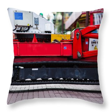 Sir Newton Was Sent For - Featured 3 Throw Pillow by Alexander Senin