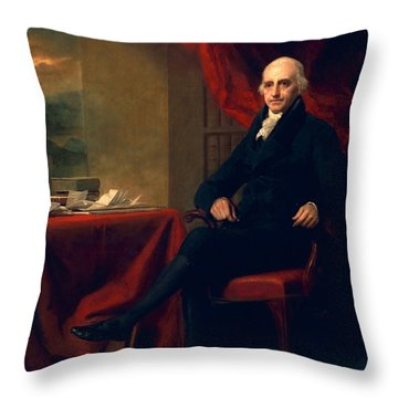 Sir William Miller, Lord Glenlee Throw Pillow by Sir Henry Raeburn