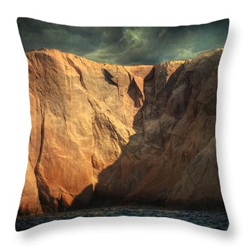 Siren Rocks Throw Pillow by Taylan Apukovska