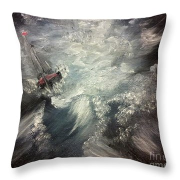 Sirens Call Throw Pillow