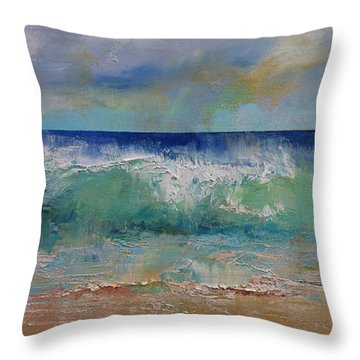 Sirens Throw Pillow by Michael Creese